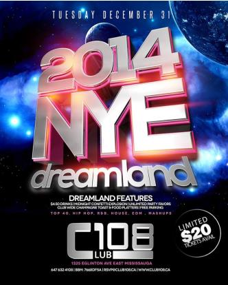 DreamLand 2014 NYE