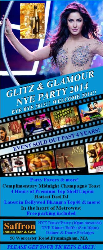 Glitz & Glamour Desi NYE Party