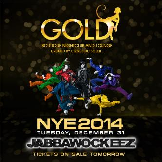 NYE with The Jabbawockeez Live