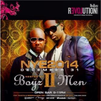 New Years Eve 2014 with Boyz II Men