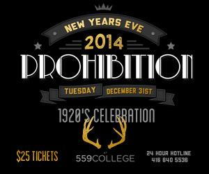 PROHIBITION 2014 @ Bar 559