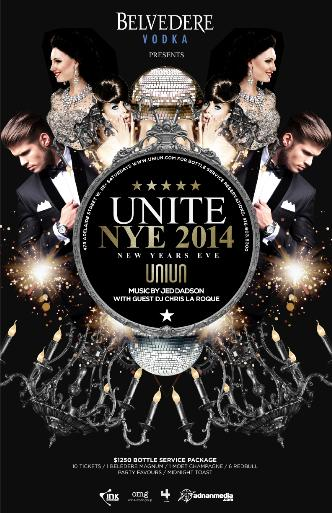 NEW YEARS EVE 2014 AT UNIUN