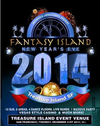 Fantasy Island New Year's Eve!