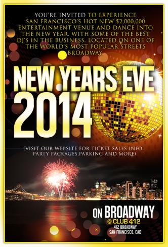 NYE on Broadway
