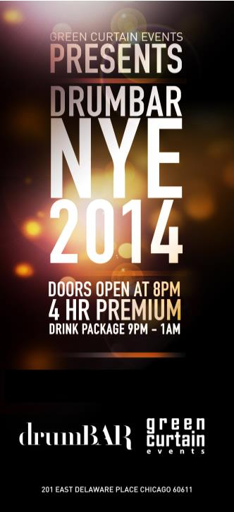 New Year's Eve @ drumBAR