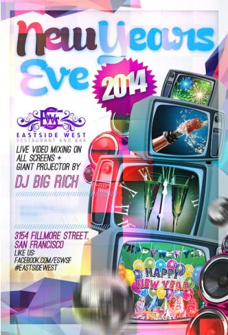New Years Eve 2014 - Live Video Mixing