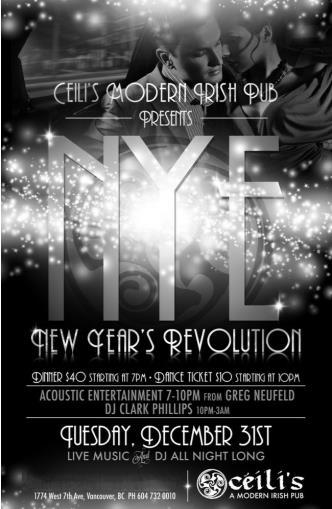 NYE Revolution 2014 Kitsilano