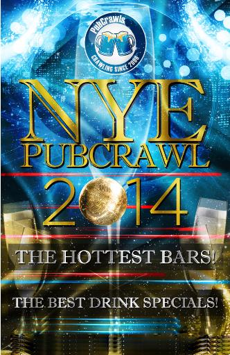 Chicago PubCrawl NYE 2014