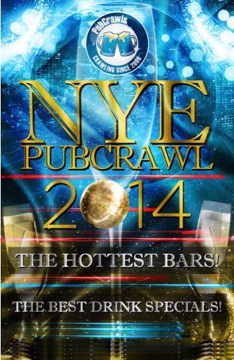Boston PubCrawl NYE 2014