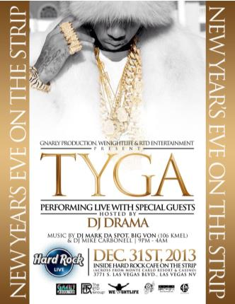 TYGA performing live
