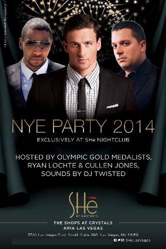 SHe NYE Party 2014
