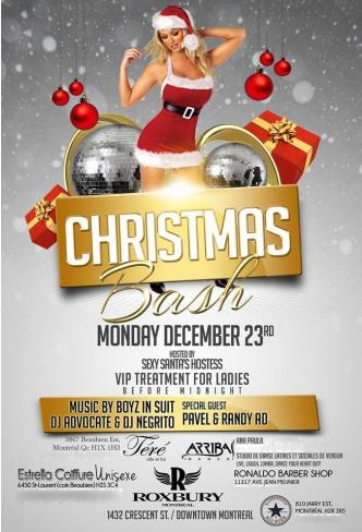 Christmas Bash @ Roxbury Montr