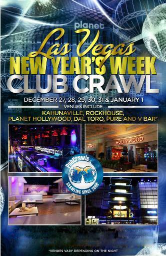 Dec 27 Las Vegas Club Crawl