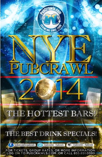 Hoboken NYE Weekend Pub Crawl