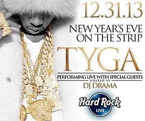 TYGA performing live Vegas NYE