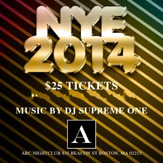 NYE ARC FEAT DJ SUPREME ONE