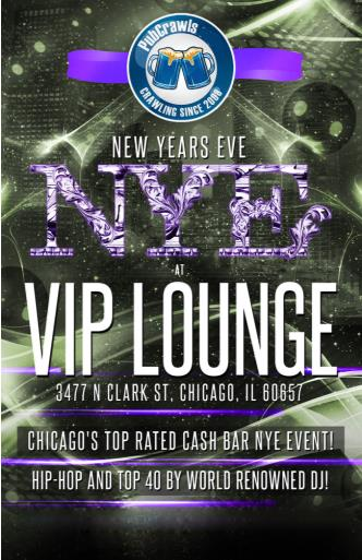 VIP Lounge Chicago New Year's