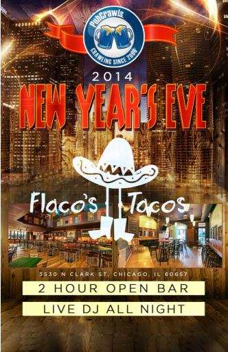 Flaco's Tacos Chicago NYE