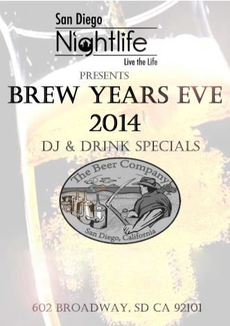 Brew Year's Eve- San Diego