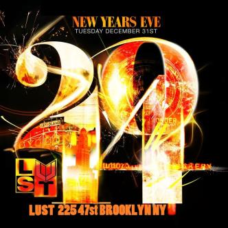 DJ ENUFF NYE @ LUST BROOKLYN