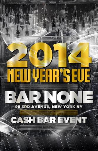 Bar None NYC New Year's Eve