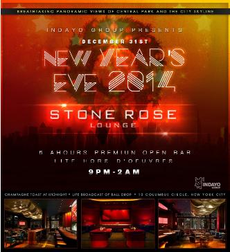 Stone Rose New Years 2014