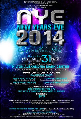 New Year's Eve Gala 2014