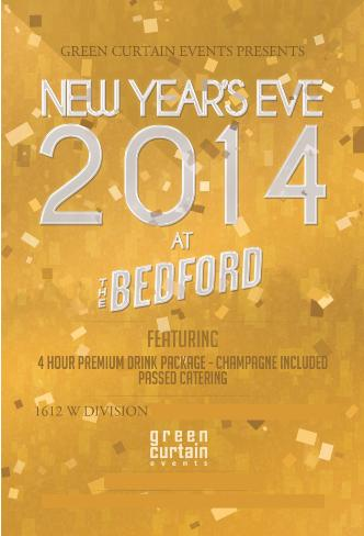 NYE @ The Bedford