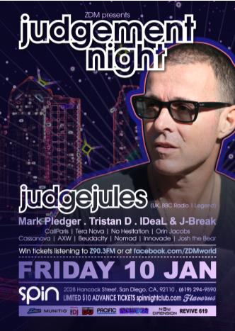 ZDM presents Judgement Night: Main Image