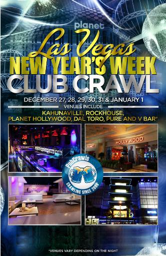 Official NYE Vegas Club Crawl