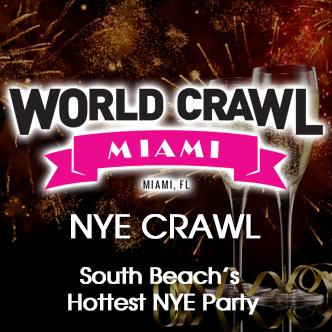 New Years Eve Wold Crawl Miami