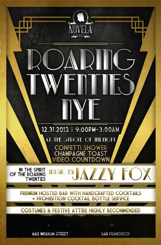 Roaring Twenties New Years Eve