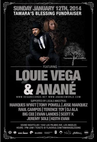 DEEP Fundraiser ft Louie Vega: Main Image