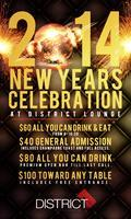 NYE 2014 - District Lounge DC