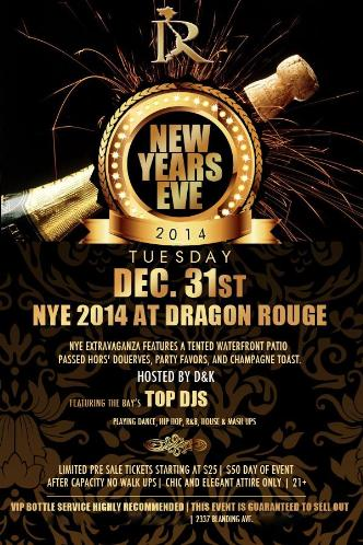 Dragon Rouge NYE Extravaganza