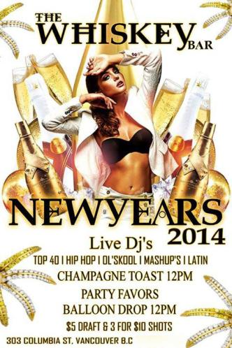 2014 NEW YEARS / WHISKEY BAR