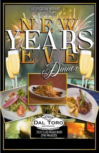 Dal Toro Las Vegas NYE Dinner