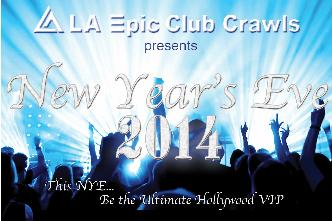 NYE Club Crawl w Dinner & Show