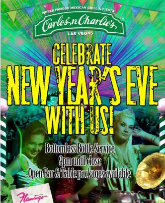 Celebrate NYE with Us!