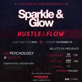 Sparkle and Glow NYE Party