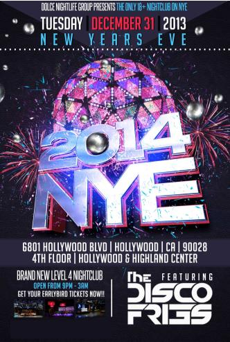 NYE 2014 at Club DV8 18+