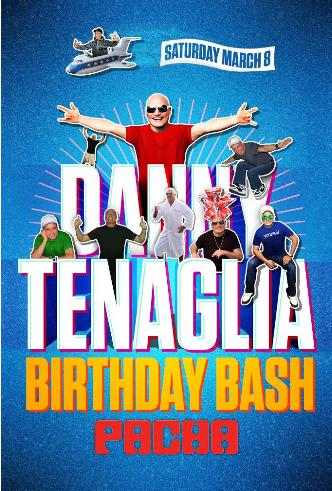 DANNY TENAGLIA BIRTHDAY BASH: Main Image