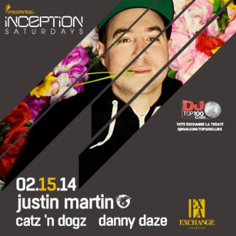 Inception ft. Justin Martin: Main Image