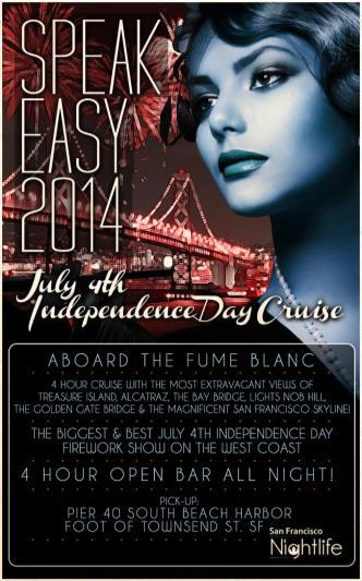Speakeasy 4th of July Cruise