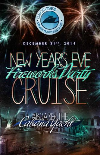 New Years Eve On Cabana Yacht