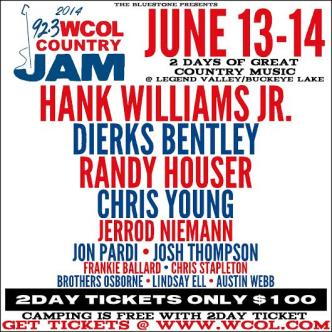 WCOL Country Jam 2014: Main Image