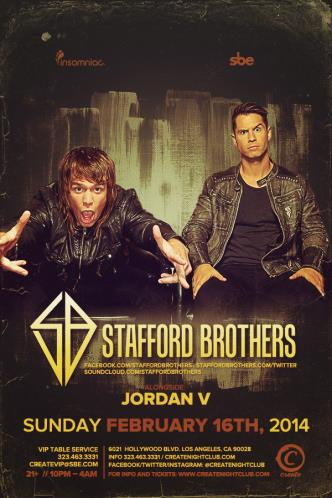 STAFFORD BROTHERS: Main Image