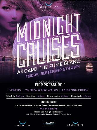 Midnight Cruise Friday 9/5