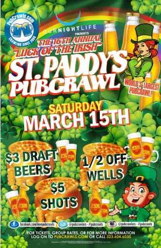 SantaMonica StPatty Crawl-Sat