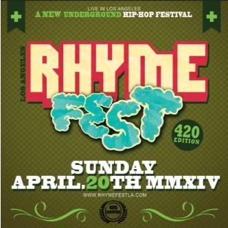 Rhyme Fest (420 Edition): Main Image